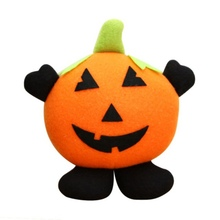 Halloween Doll Ornaments Children Gifts Scene Decoration Witch Pumpkin Ghost Ornaments(China)