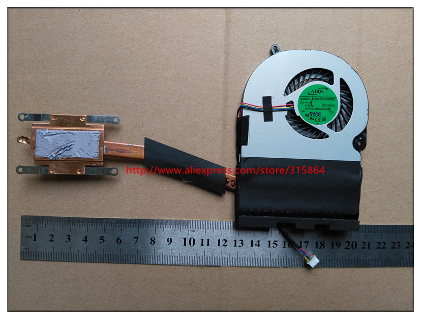 new new laptop cpu fan with heatsink for Toshiba  E45 E45W H000085330 13N0-DRA0302<br>