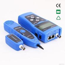 Free Shipping! NOYAFA NF-308B Multipurpose Network Cable Tester with 8 Far-end for Test Ethernet LAN Phone wire USB coaxial