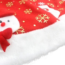 Newborn Baby Christmas Hats Boys Girls Winter Hat Infant Toddler Snow Man Santa Claus Moose Decoration Hats(China)