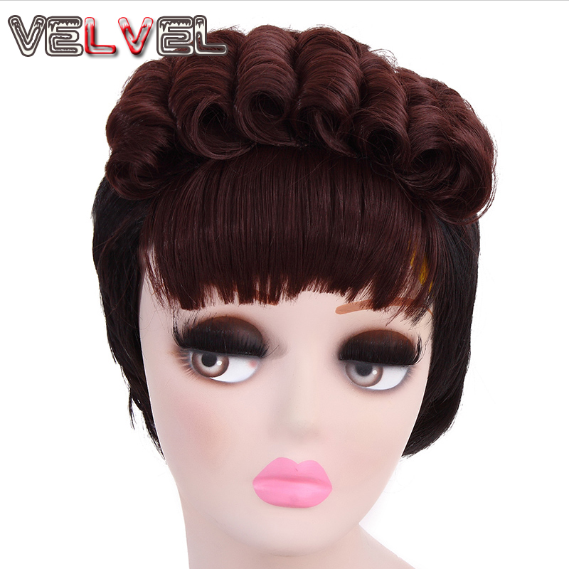 New Fashion Lawyer Wigs African American Short Celebrity Wigs Hair Styles Short Layered Hair Women Sexy Pelucas VELVEL<br><br>Aliexpress