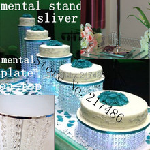 50 cm tall crystal  with mental table top  cake stand chandelier centerpieces for weddings