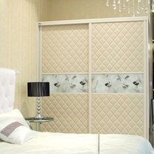 Product factory OPPEIN Bedroom Furniture Contemporary Sliding Door Wardrobe YG11226(China)