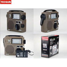 2016 new Best TECSUN GREEN-88 Radio FM / AM / SW Emergency Multiband Radio Receiver Hand Crank Dynamo Vintage Radio(China)