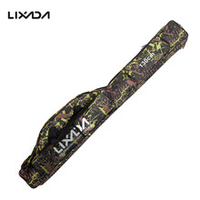 Lixada 130/150cm Fishing Rod Bags Oxford Storage Carrier Case Foldable Carp Fishing Gear Tool for Pesca(China)