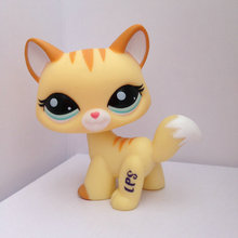 Pet Shop Animal Doll LPS Figure For Child Toy Gril  Cat Lovely  DWA215