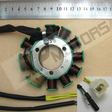 Magneto Stator Plate Ignition for Honda CB125T 150 11 Pole Motos Parts Metal & Plastic Motocycle Accessories(China)