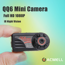 QQ6 Mini Camera Full HD 1080P Wide Angle Camera DV DVR IR Night Vision Motion Detection Sensor Micro Web Camera