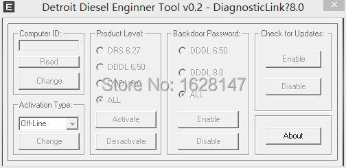 Detroit Diesel Engenner Tool v0.2 [to active DDDL8.0 ]<br><br>Aliexpress