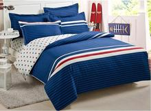 New arrival high quality 100% cotton bed set comfortable cotton bedding sets size family 4pcs/set free shipping