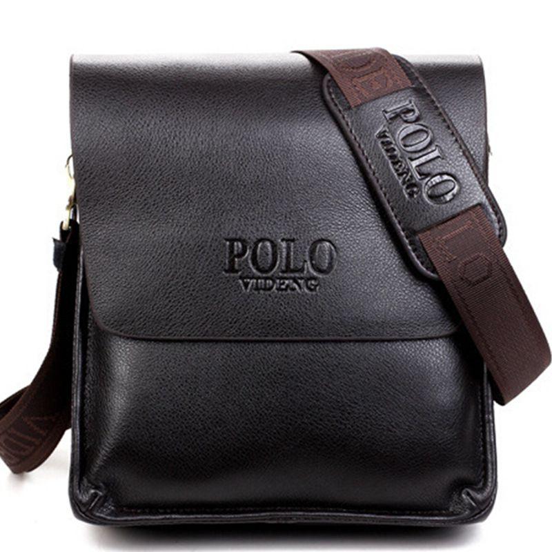 2017 Fashion  New Arrived pu leather men bag fashion men messenger bag cross-body bussiness shoulder bag  free shipping LD3<br><br>Aliexpress