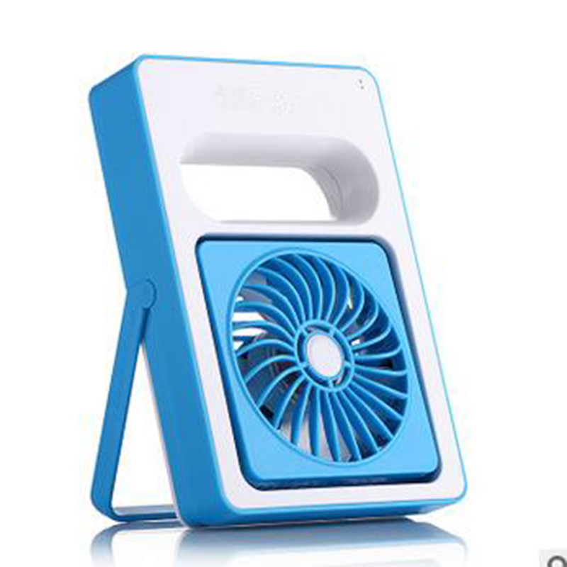 2017 Hot Sale Mini USB Rechargeable Protable Cooling Fan For Officer ,Traveller 2000Mah Purple/Green/Blue/Rose<br>