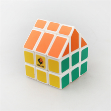 TiSe Cubetwist 10 Styles Third-order House Cube Magic Speed Cube Orange Roof Puzzle Cube Kids Gifts Toy Figures Brinquedos
