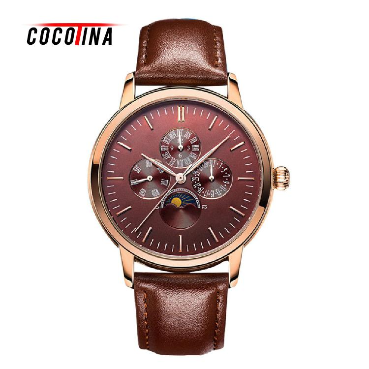 COCOTINA Mens Watches Multifunctional Luminous Waterproof Quartz Watch Business Mens Watch LSB8328<br>