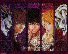 Death Note Japanese Animation Cartoon Anime 40x60cm cool WALL Home Decor POSTER P1202 - wall Poster Home Decor Poster(China)