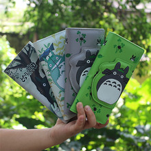 Fashion Anime My Neighbor Totoro Kawaii Women Wallets Card Holder PU Leather Long Purse Ladies Billfold