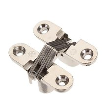 30pcs Cross Door Hinges Concealed Door Hinges Zinc Alloy Door Hinges
