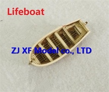 NIDALE model Scale 1/100 Halcon1840 Mini lifeboat wooden model / finished sail / Brass updates Not include the boat model(China)