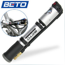 2014 BETO MP-036 high-end mountain bike portable high-pressure inflator hose screw type inflatable pump mini pump bicycle