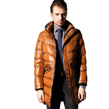 Plus Size 4XL 2016 New Brand Men Down Coat Long Down Parka Winter Jacket Manteau  Homme Mens Jackets and Coats  YR10