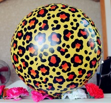Hen night decorations Cheetah Leopard Spots Mylar Foil Balloon Safari Jungle Animal Wild theme party decoration kits(China)