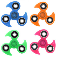Buy Luminous Fidget Spinner Hand Spinner EDC Tri-Spinner Autism ADHD Kids / Adult Funny Anti Stress Child Finger Toys 4 Colors for $2.12 in AliExpress store