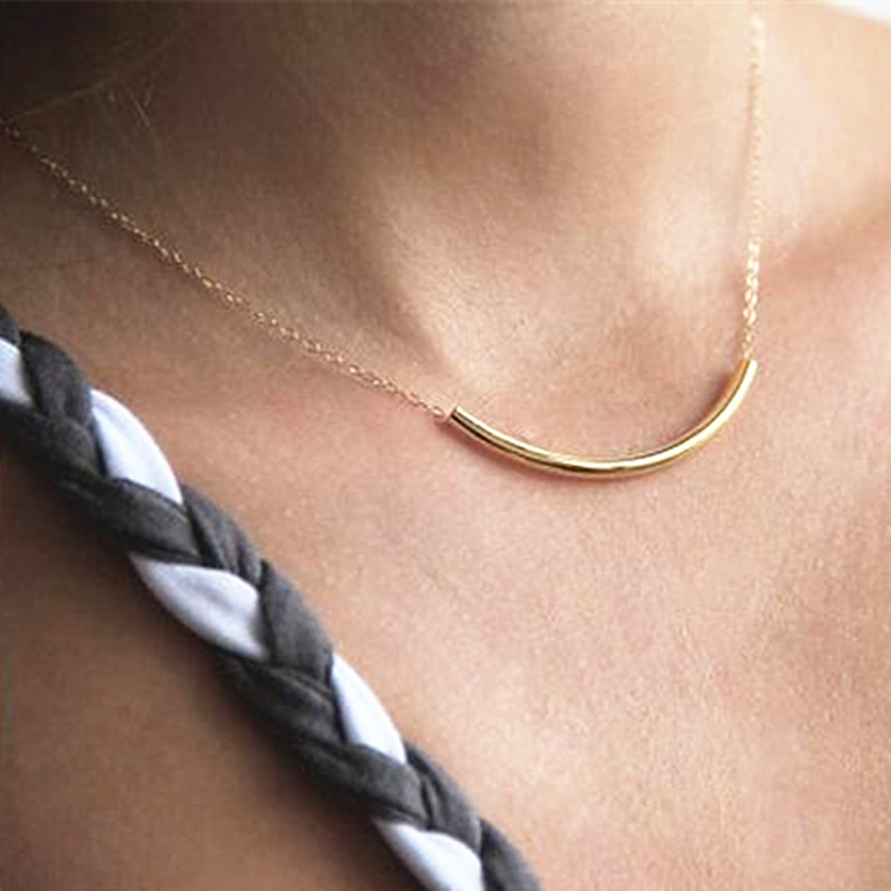 N2075-Clavicle-Necklace-Women-Tube-Choker-Minimalist-Fashion-Summer-Everyday-Jewelry-Collares-Bijoux-American-European-2017