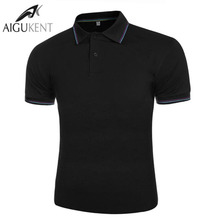 2016 New Men Brand Clothes Solid Polo Breathable Shirt Polos Slim Short Sleeve Anti-Wrinkle 6Color Choice  Fashion M-XXXL