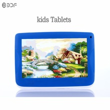 New 7 inch kids Tablet pcQuad Core Nice Android 4.4 1024*600 Installed Best gifts for child 7 inch Tablets Pc