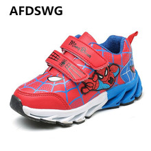 AFDSWG spring and autumn fashion red casual childrens shoes girls childrens sneakers black kids shoes(China)