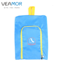 VEAMOR Shoes Bags Polyester Travel Pack Shoe Pouch Waterproof and Dustproof Pink Blue Travel Shoes Storage bags 5pcs/set WB007(China)