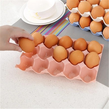Kitchen Egg Storage Box Organizer Refrigerator Storing Organizer Container Storage Egg Racks And Shelf Eggs Crisper(China)
