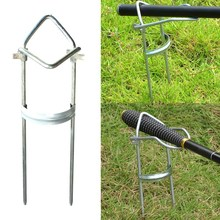 2016 Top Selling Useful Fishing Accessory Adjustable Bracket Fishing Rod Pole Stand Holder Fishing Tool