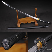 Functional Iaito Sword Dojo Training Katana Full Tang Blade 1045 Carbon Steel Light Weight Unsharp Supply(China)