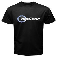 Men Short Sleeve T Shirt New Top Gear Automobile Automotive Magazine Logo Men'S T Shirt