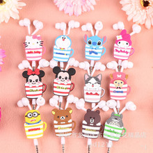 10Pcs in-ear Earphone Headset Cute Earphones Earbuds for iPhone Samsung Xiaomi HTC MP3 MP4 free shipping