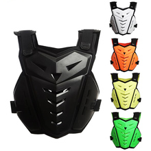 New Motocross Motorcycle Armor Jacket Outdoor Sport Protective gear Shockproof Breathable Chest Back Protector(China)