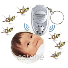 New Ultrasonic Mosquito Repeller Pest Bug Repellent Insect Keychain Control Anti JUN13-1