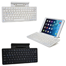 New Tablet Wireless Bluetooth Keyboard With Metal Stand Holder For Apple Samsung Microsoft Windows Q99 XXM