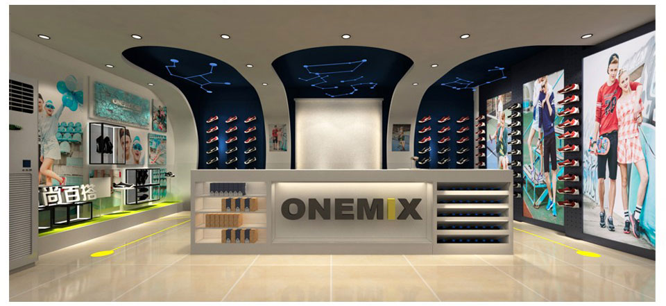 ONEMIX Men Running Shoes Fashion Casual Outdoor Jogging Air Cushioning Gym Fitness Sneakers Max 12 23
