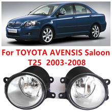 for TOYOTA AVENSIS Saloon (T25) 2003-2007  Fog Lights Halogen car styling FOG LAMPS