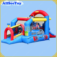 Good Quality Inflatable Bounce House Combo Slide,Bouncy Castle for Children,Jumping Castle with Air Blower(China)
