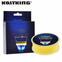 KastKing 550m 4 Strands PE Braided Fishing Line Multifilament Fishing Line Wire Brown/Yellow/Blue/Green 0.10~0.50mm 10-80 LB