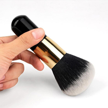 Buy Single Black Beauty Powder Brush Makeup Brushes Blush Foundation Make Large Cosmetics Wood Brushes Soft Face Makeup for $2.57 in AliExpress store