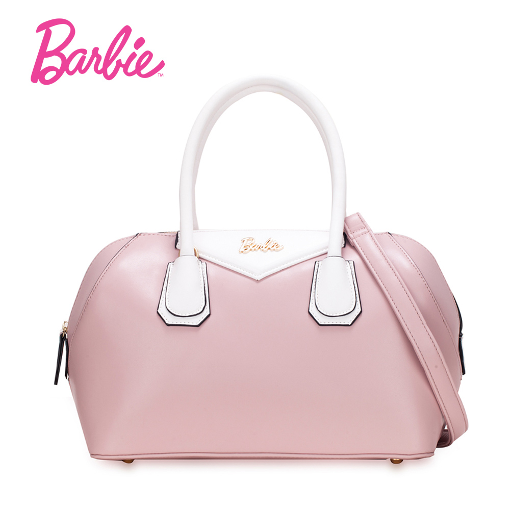 Barbie 2018 Sweet Women bags Shoulder Bag Leather handbag fashion Crossbody Bags Simple Shell Bag<br>