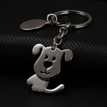 dog keychain keyfob cute key ring for women puppy key chain llaveros mujer high quality portachiavi key holder chaveiro(China)