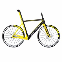 Buy Smileteam Full Carbon Frameset&wheelsets T800 UD Carbon Cycling Framesets 50mm Clincher wheels+Road Carbon Frames complete bike for $938.00 in AliExpress store