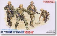 "1/35 scale model Dragon 3015 US Army First Infantry Division ""BIG RED ONE""(China)"