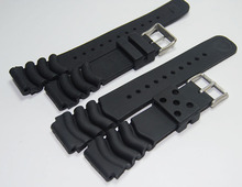 Replacement for Rubber Diver Watch Strap silicone Band for seiko SKX171/173KX779/781DAL1BP 22mm 20mm(China)