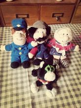Four Characters 10cm -15cm Postman Pat Plush Toys Pat Uncle Plush Toys 1piece Free Shipping